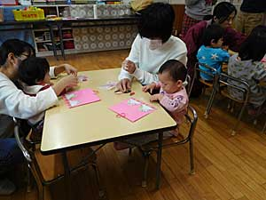 幼稚園の土曜日☆_e0325335_11545630.jpg