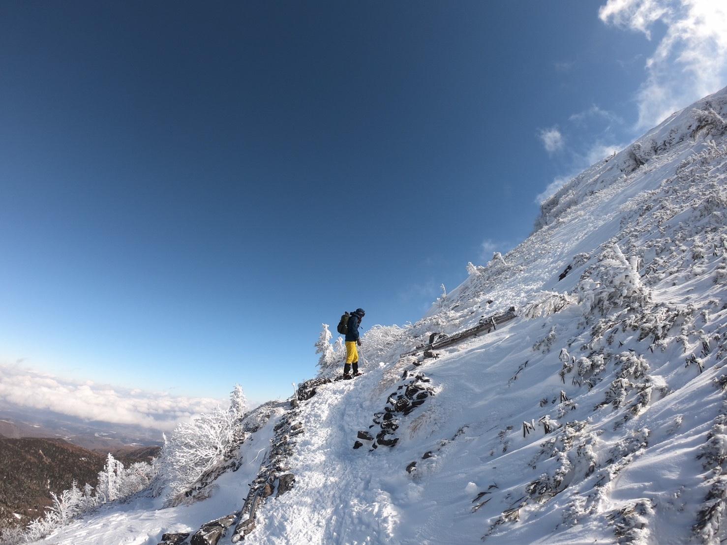 硫黄岳(2020年冬)_f0251840_18030957.jpg