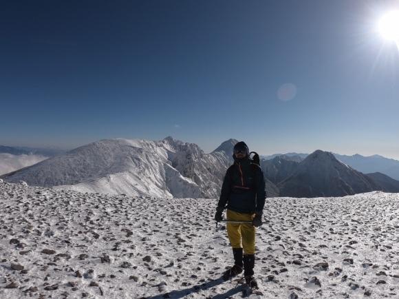 硫黄岳(2020年冬)_f0251840_18032092.jpg