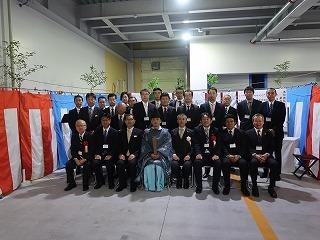 共和機械(株)新工場増築工事 竣工記念式典_f0151251_08560265.jpg