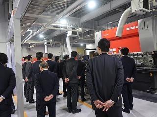 共和機械(株)新工場増築工事 竣工記念式典_f0151251_08562955.jpg