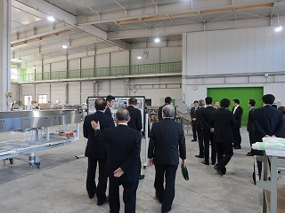 共和機械(株)新工場増築工事 竣工記念式典_f0151251_08564286.jpg