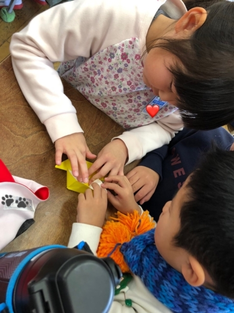 牛田小学校の1年生との交流会_f0324461_23121774.jpg