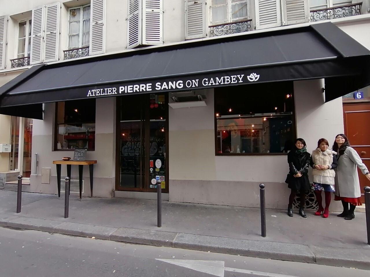 パリで人気 韓国人シェフの店 Pierre Sang_b0060363_12553336.jpg
