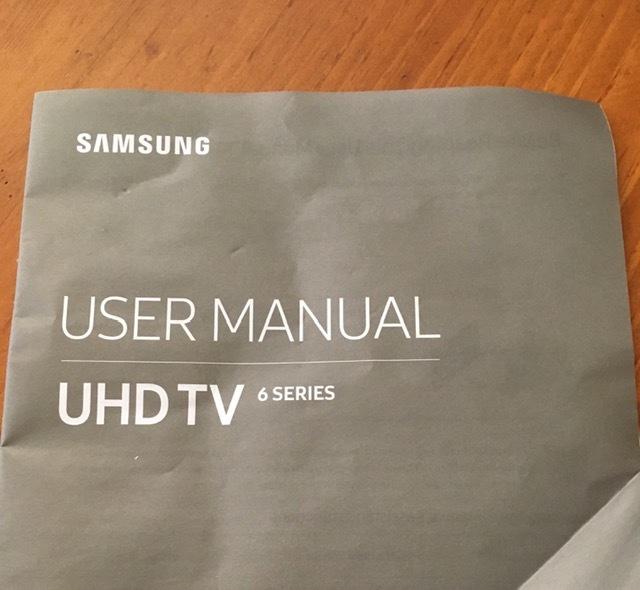 新しいSAMSUNGスマートテレビとAT&T TV_e0350971_10031784.jpg