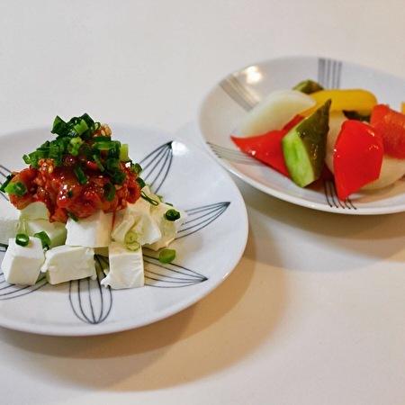 シーフードのサラダとおつまみ。そしてシーフードの常備菜_a0223786_09361947.jpg