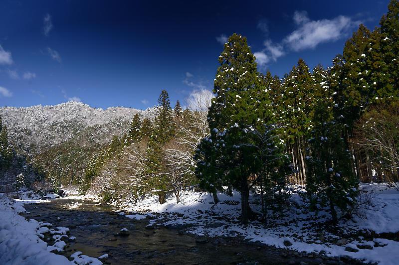 再びの雪景色!@久多_f0032011_16364721.jpg