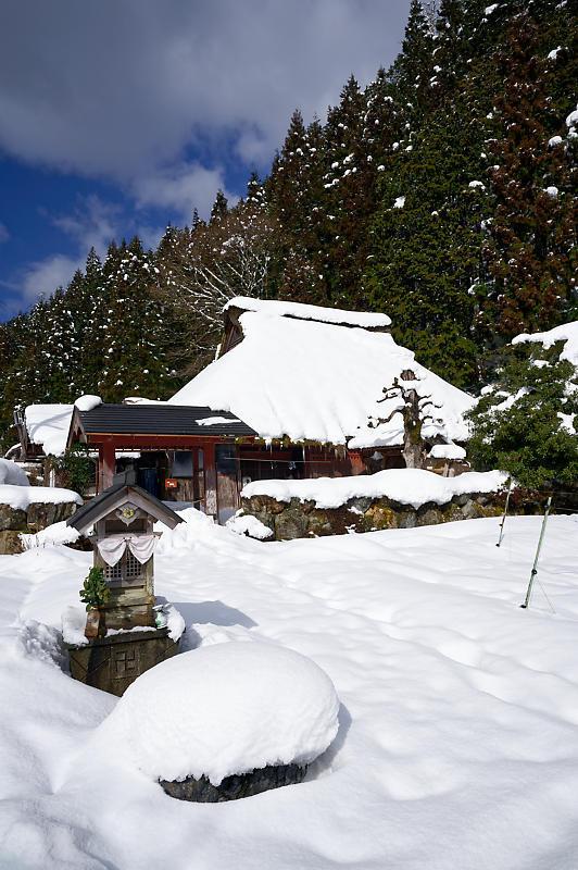 再びの雪景色!@久多_f0032011_16364726.jpg