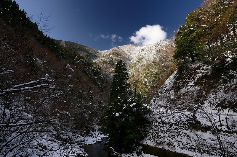 再びの雪景色!@久多_f0032011_16364731.jpg