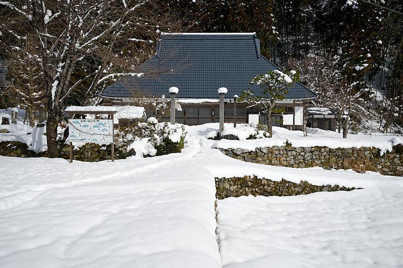 再びの雪景色!@久多_f0032011_16364738.jpg