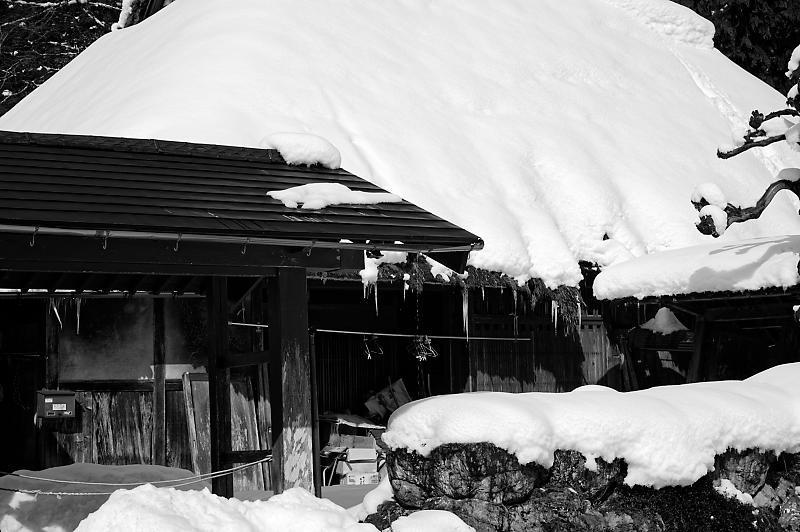 再びの雪景色!@久多_f0032011_16364805.jpg