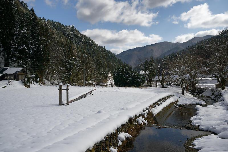 再びの雪景色!@久多_f0032011_16364952.jpg