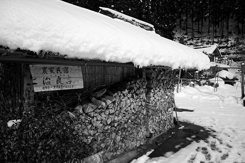 再びの雪景色!@久多_f0032011_16385567.jpg