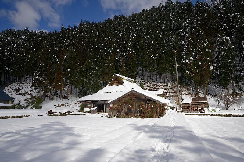 再びの雪景色!@久多_f0032011_16385593.jpg