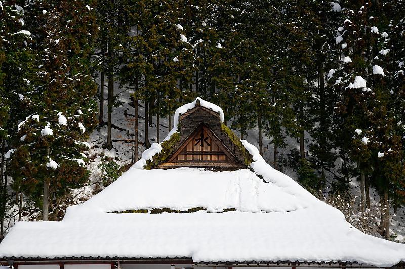 再びの雪景色!@久多_f0032011_16385642.jpg
