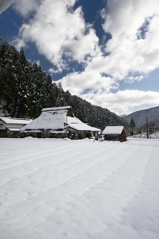 再びの雪景色!@久多_f0032011_16385665.jpg