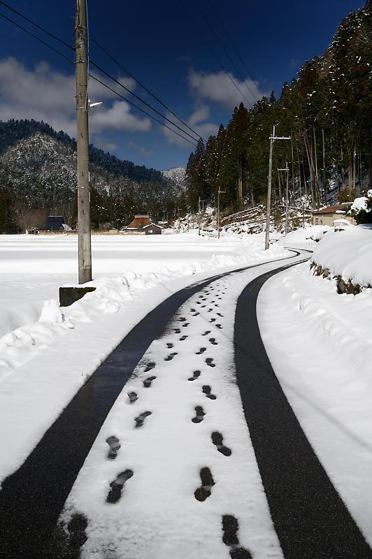 再びの雪景色!@久多_f0032011_16432127.jpg