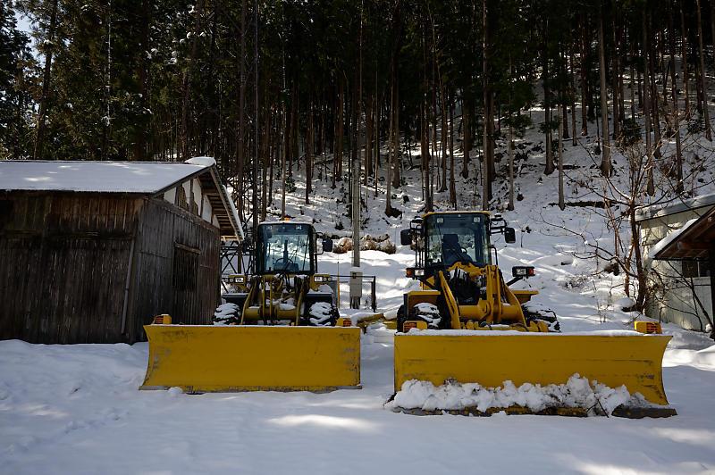 再びの雪景色!@久多_f0032011_16432137.jpg