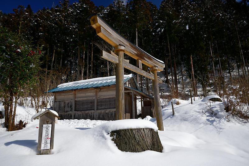 再びの雪景色!@久多_f0032011_16432199.jpg