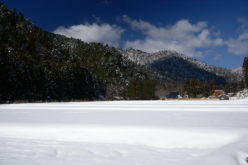 再びの雪景色!@久多_f0032011_16432276.jpg