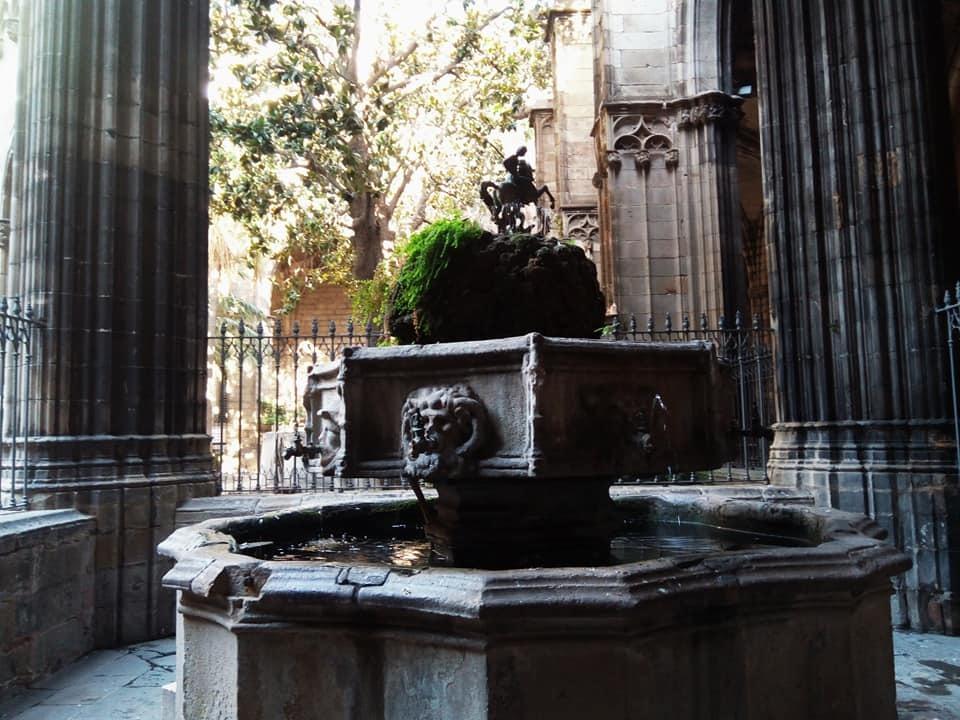 2019バレンシア&バルセロナの旅⑦ 5年ぶりのバルセロナ大聖堂とマトチーズ_b0305039_00530483.jpg