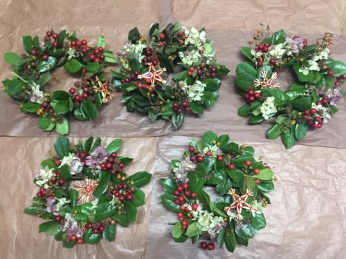 【クリスマスキャンドル&リース】_c0184043_13193368.jpg