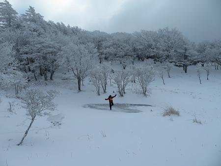 紺碧なお空の下で真っ白な雪山を楽しむ~【台高】2/11_d0387443_14130771.jpg