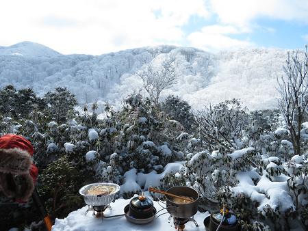 紺碧なお空の下で真っ白な雪山を楽しむ~【台高】2/11_d0387443_14131418.jpg