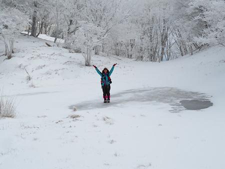 紺碧なお空の下で真っ白な雪山を楽しむ~【台高】2/11_d0387443_14132662.jpg