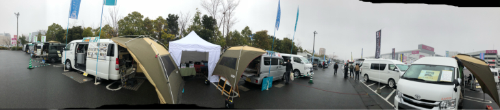 浦和美園イオン駐車場にて関東キャンピングカー商談会で来てました。_e0225148_15294739.jpg