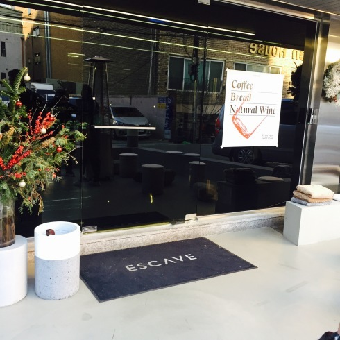 ソウル旅行 8 雰囲気のいいカフェでミルフィーユ「ESCAVE」カロスキル_f0054260_11582045.jpg