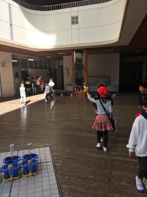 牛田小学校の1年生との交流会_f0324461_19114403.jpg
