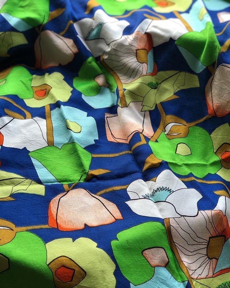 Vintage fabric._b0117564_19335005.jpg