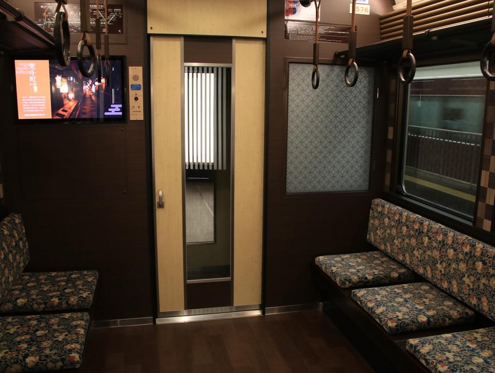 阪急 京とれいん 雅洛 車内を撮る_d0202264_18114260.jpg