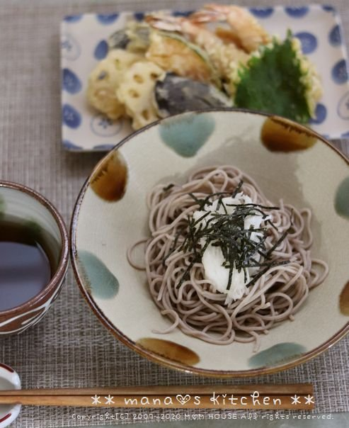 天ぷら とろろ蕎麦♪_c0139375_14181240.jpg