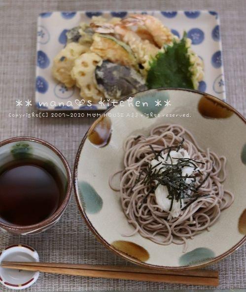 天ぷら とろろ蕎麦♪_c0139375_14212047.jpg