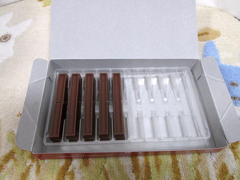 モラタメで「不二製油 スティックチョコレート」を試してみた_d0036883_12363207.jpg
