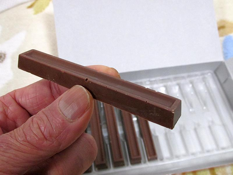 モラタメで「不二製油 スティックチョコレート」を試してみた_d0036883_12363297.jpg