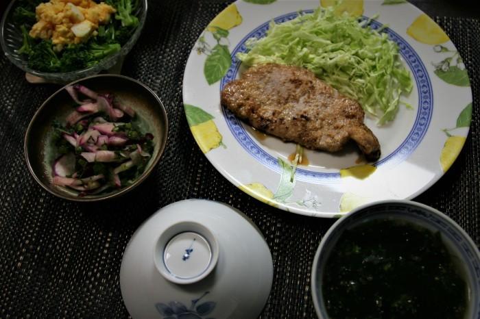 今夜の夕飯・・4日分~♬_f0229190_19512626.jpg