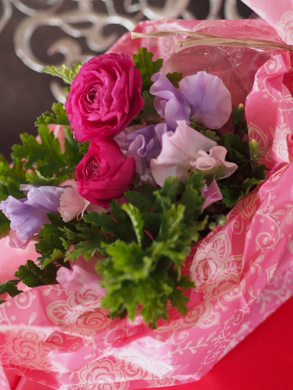 春のお花もりもりアレンジメント_d0144095_13294480.jpg