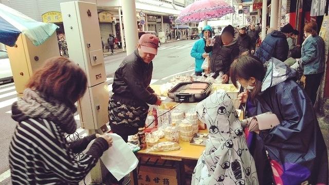 「らっぽた」(落花生ポタージュ)は富士市の味! 雨にも負けず!第5回 吉原まるごとマルシェ_f0141310_07230792.jpg