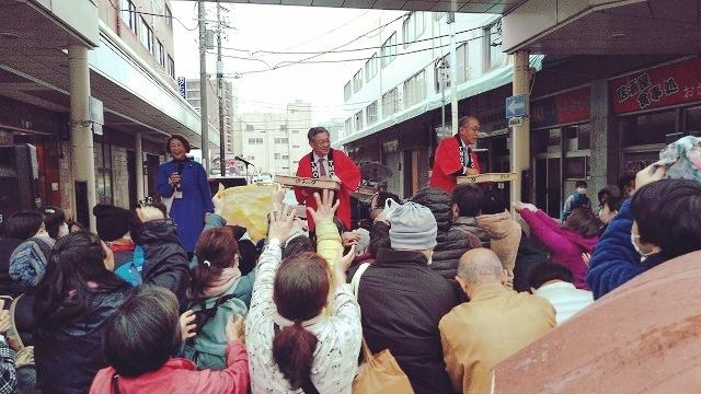 「らっぽた」(落花生ポタージュ)は富士市の味! 雨にも負けず!第5回 吉原まるごとマルシェ_f0141310_07231566.jpg