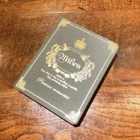 ☆ MILIEU original binder ☆_d0060413_16254819.jpg