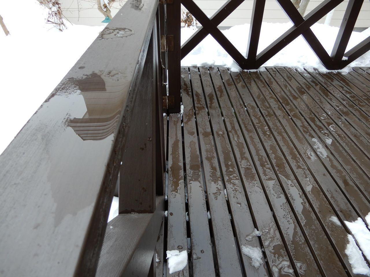 また15センチ位の積雪しかも除雪車が重い雪を置いていく_c0025115_22183394.jpg