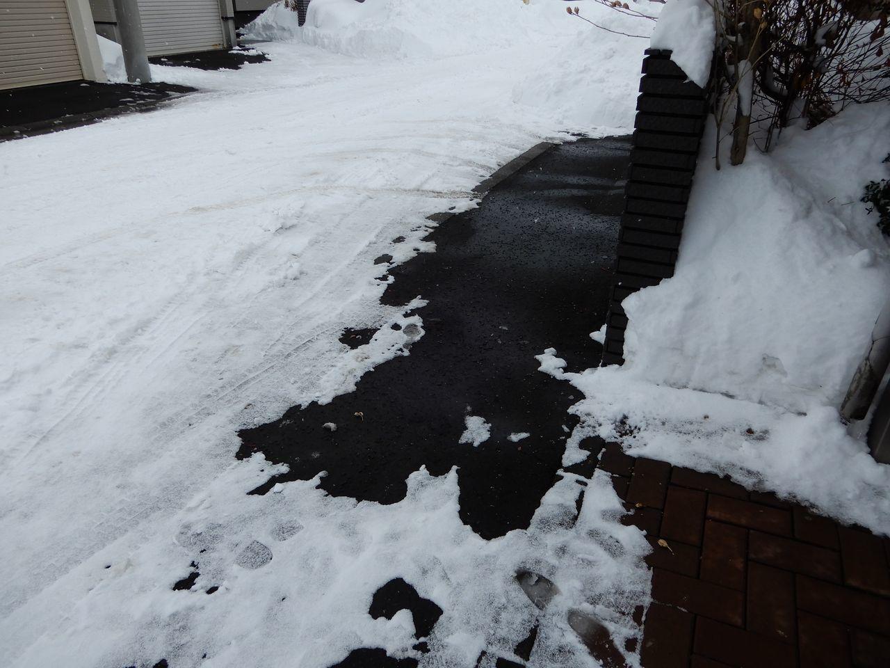 また15センチ位の積雪しかも除雪車が重い雪を置いていく_c0025115_22183817.jpg