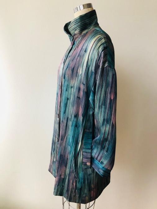 着物着物リメイク・雨コートからブラウスジャケット_d0127925_15063262.jpg