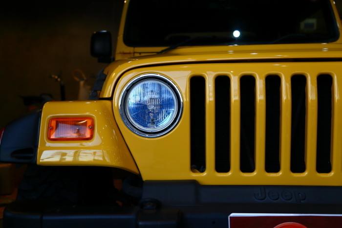 2006年モデル TJラングラー ソーラーイエロー 5.4万キロ 店頭展示開始_f0105425_18310984.jpg