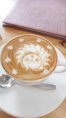 ミモザリース作りプラスカフェで朝活_f0365636_15561793.jpg