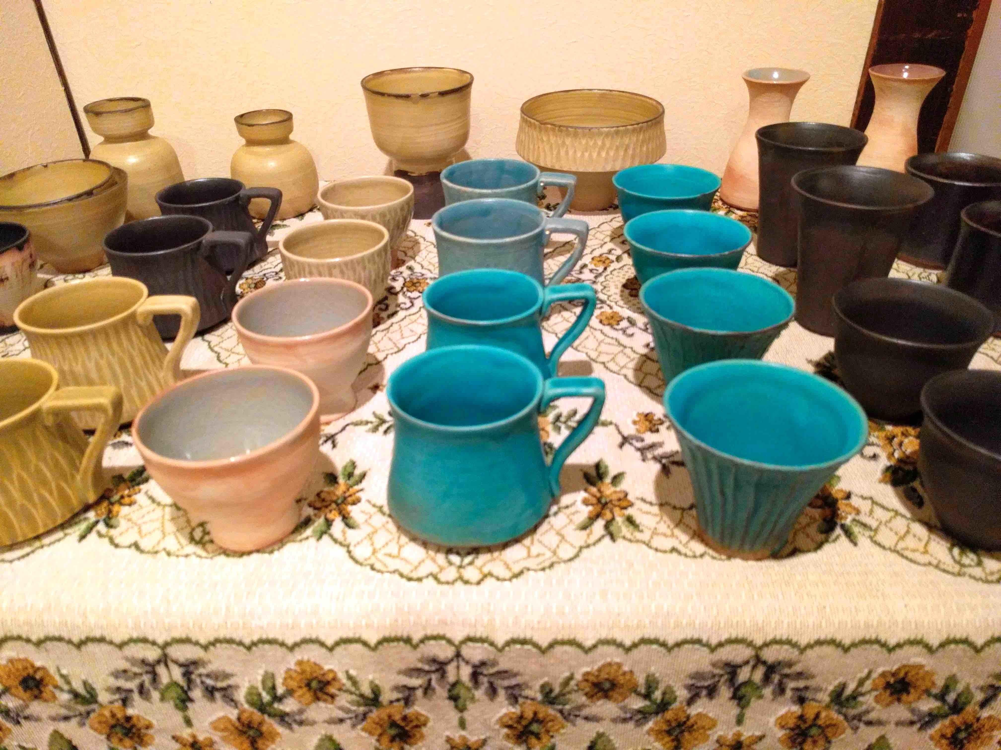 中田誠さんの陶器の展示が始まります_a0265743_22363350.jpg