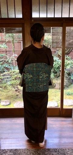 新年会・赤城紬にまいづる古代騎馬文袋帯のお客様。_f0181251_18055068.jpg